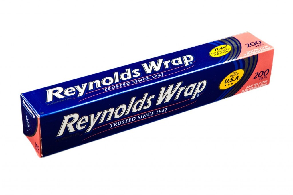 Reynolds Wrap -- Since 1947. (Same year as Roswell.)
